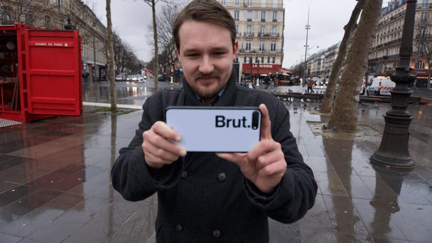 Rémy Buisine, journaliste chez Brut